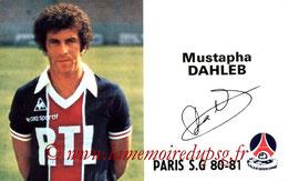 DAHLEB Mustapha  80-81