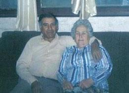 Luis Fanor Maturana Ahumada  y su señora esposa Marta Arias