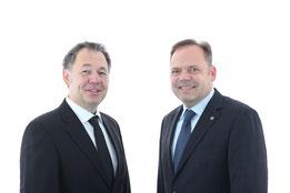 Dr.-Ing. Stephan Roth (links) und Prof. Dr.-Ing. Michael Schmidt (rechts)