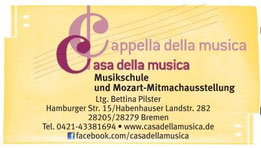 Musikschule Casa della Musica Bremen Habenhausen