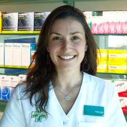 Marion Angiolini, Assistante en pharmacie