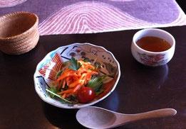 大和野菜のサラダ