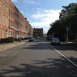 Street near hostel