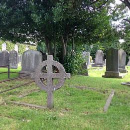Celtic cross in Drumcondra cemetary