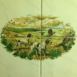 WC wall tiles