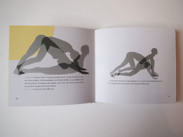 Illustration of the Sun-salutation, Yogaillustration
