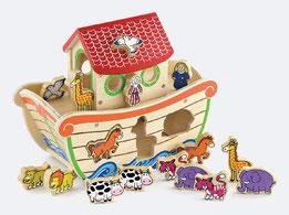 Dit is de grote ark van noach van via toys.