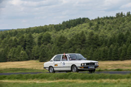 Team METROM mobil im BMW BJ 1979