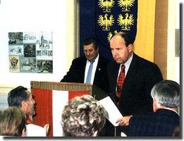 Museumseröffnung am 3. Oktober 1998
