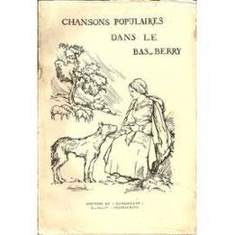 L'un des volumes de recueil de chansons.