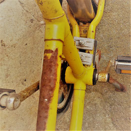 verrostetes Fahrrad