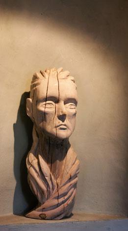 Camille,Skulptur,Holz