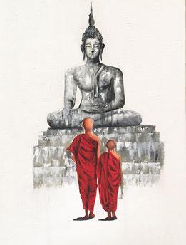 Buddha Kunst Bilder und Gemälde