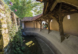 "Washhouse ""La Houn des Vignes"", Portet (Vic-Bilh)"