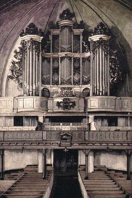Die von Haupt geschätzte Wagner-Orgel in der Parochialkirche zu Berlin.