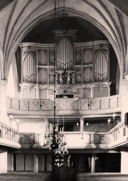 Wriezen, St. Marien, Orgel von Joachim Wagner