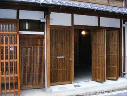 伝統建具 平野郷町屋の写真