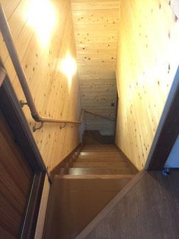 階段塗装塗替え