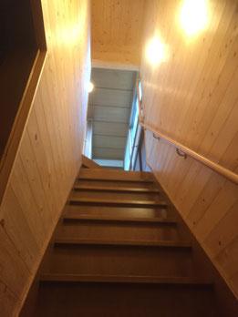 階段塗替え