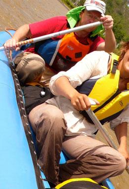 Raft 2 pers en descente