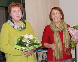 Karin Hollstein-Hähle und Marlies Kozielski-Nuske   Foto: Monika Henning