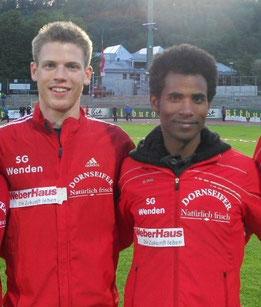 5000 m: Niklas Bühner und Ejob Solomun