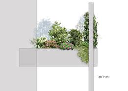 Progetto per un terrazzo
