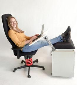 Heimbüro der Zukunft