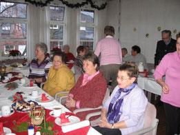 Weihnachtsfeier Cafe Malta