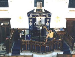 Shimon  REUBEN & Nehama REUBEN. DUO REUBEN. Concert synagogue Vincennes Paris 1994
