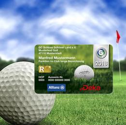 Golfleser Offline Online Reader Komplettsysteme DGV Ausweis RFID Mifare