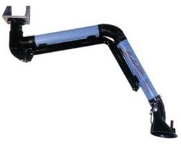 Il braccio aspirante autoportante Evolution rappresenta la migliore soluzione tecnica per l'aspirazione dei fumi di saldatura, gas, vapori, aerosol, fumi di olio, polveri.