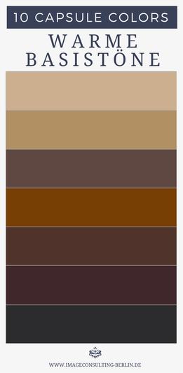 Capsule Colors Deine 10 Besten Farben Farbberatung Und