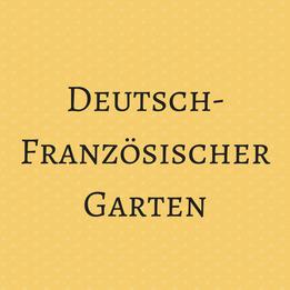 Deutsch Französischer Garten