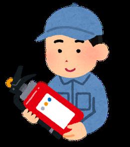 消防設備士による点検