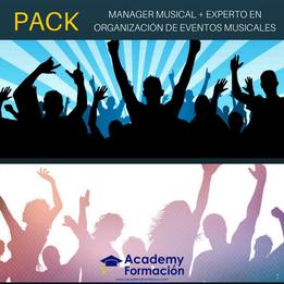 Curso de manager musical + curso de experto en organización de eventos musicales