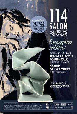 Claude Rossignol - Affiche Salon des Artistes Orléanais 2021
