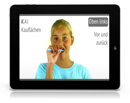 Video-Putzanleitung für Ihre Kinder von Ihrer Zahnarztpraxis (© Doc S)