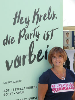 Julia beim Race For Life
