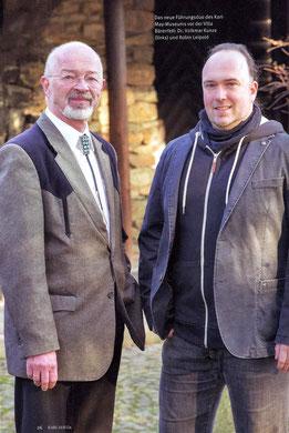 Dr. Volkmar Kunz (links) und Robin Leipold