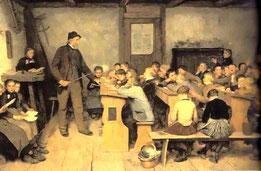 Die Dorfschule (Albert Anker 1896)