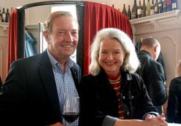 Martin Walker mit Anette Freitag