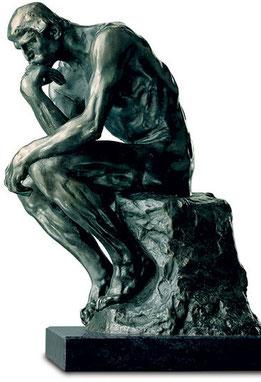 "Auguste Rosin  ""Thinker""  (Skulptur Musée Paris)"