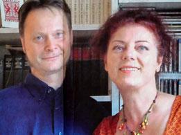 """Die beiden Autoren des Buchs """"Schlimme Finger"""""""