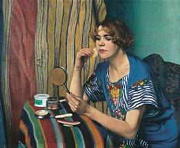 Félix Vallotton - La poudreuse - 1921  (Privatbesitz)