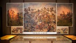 """Kolossalgemälde """"Die Indianerschlacht am Little Big Horn""""  (Foto: Bild/Lutz Weidler"""