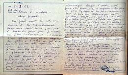 Dokument im Buch: Brief an die Eltern (05.02.1963)
