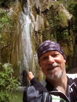 Wasserfall von Nymfes