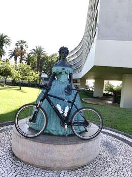 Die Sissi auf Madeira kann jetzt auch Radfahren!