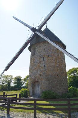 Le moulin à vent du Cotentin.